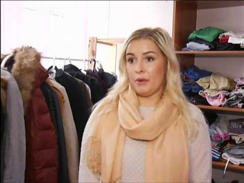 Магазин бесплатной одежды для нуждающихся снова открылся в центре