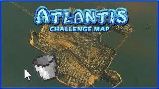 DRAINING ATLANTIS | Cities Skylines | Atlantis Extra