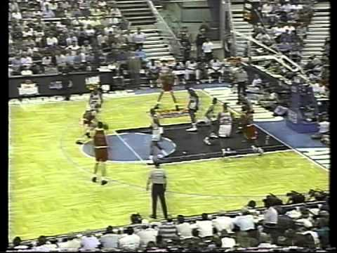 1995 Playoffs Chicago@Orlando GAME 2 HIGHLIGHTS