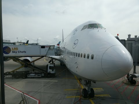 Lufthansa flight LH 470 Frankfurt to Toronto