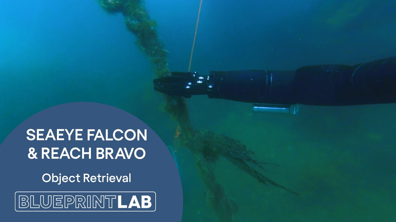 GAME CHANGER! Reach Bravo Manipulator on a SAAB Seaeye Falcon ROV