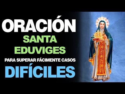 🙏 Oración a Santa Eduviges PARA SUPERAR CASOS DIFÍCILES ¡Fácilmente! 🙇️