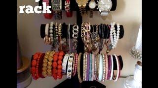 Diy; Bracelet Rack