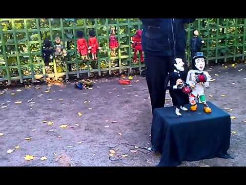 Кукла, мишка и пирамидка.  Клоун Дима. Развивающее видео.