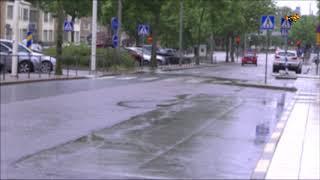 SMHI:s vädervarning – extremregn på väg