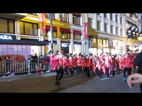 San Francisco Chinese New Year Parade 2016 Chinese Immersion School at DeAvila
