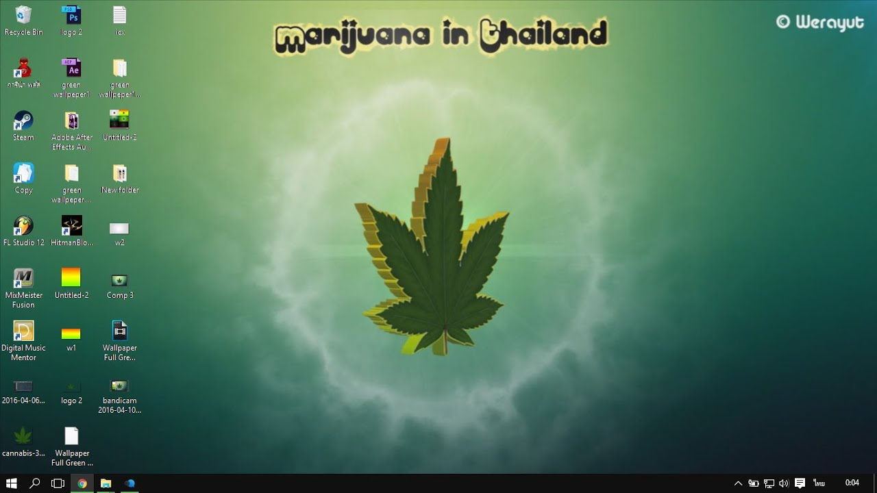 Desktop Win7 8 81 10 Weed Wallpaper AnimatedC