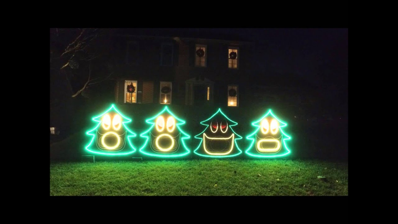 2015 Kurtz Christmas Lights - Minions - YouTube