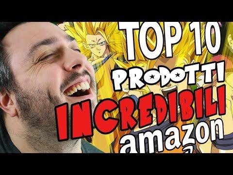 TOP 10 PRODOTTI AMAZON DI DRAGON BALL INCREDIBILI! LUCI DA COMODINO E PORTAFOGLI?