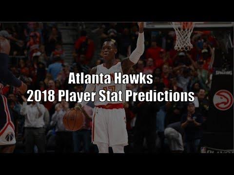 Atlanta Hawks 2017-2018 Player Stat Predictions