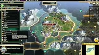 Let's Play Civilization 5: Conquest of the New World-England (Pt 1) Emperor Difficulty Gameplay