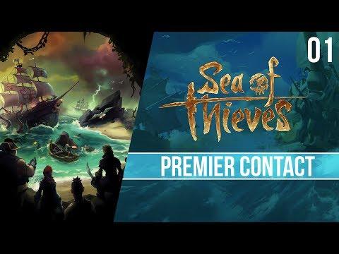 Premier Contact avec Sea of Thieves - LE jeu de pirates - 01