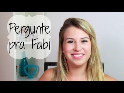Pergunte pra Fabi: Como lidar com blog, facu e namorado? Câmera?  - Fabi Santina