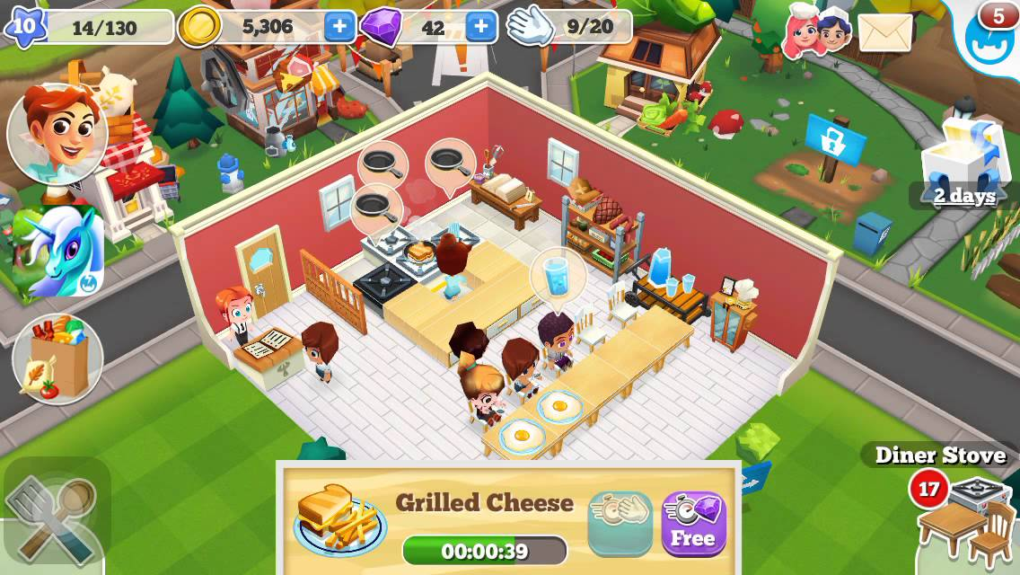 Restaurant Story 2 Game Play My Thoughts