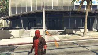 Deadpool kickin ass - Gta 5