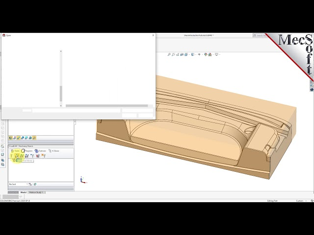 VisualCAM 2021 for SOLIDWORKS, 3 Axis Introduction