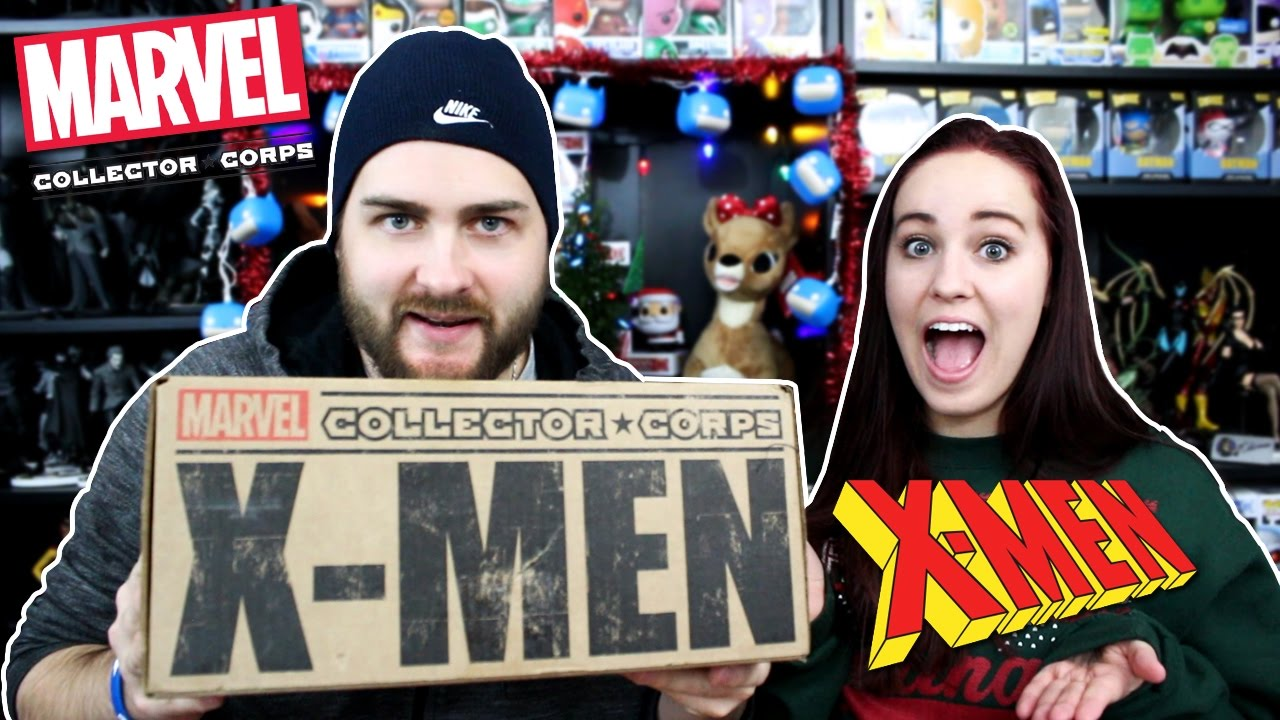 Marvel Collector Corps December 2016 - X Men - YouTube