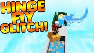 INSANE NEW HINGE FLY GLITCH! | Build A Boat For Treasure ROBLOX