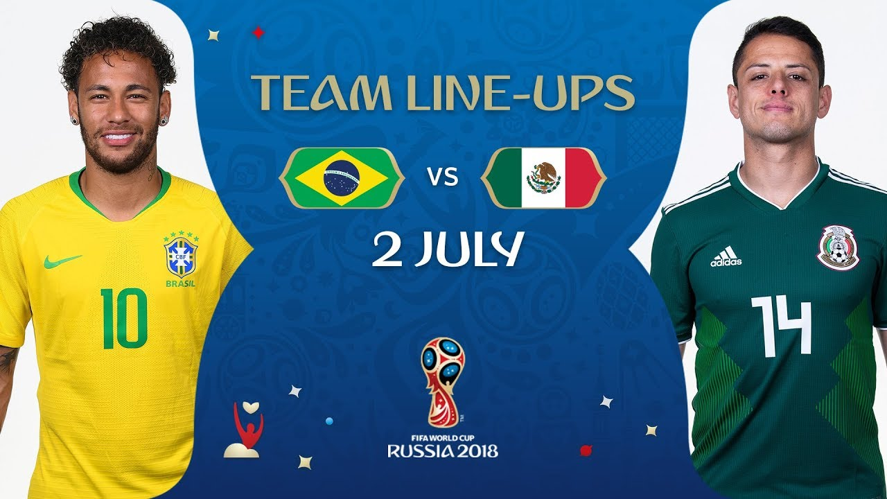 f0901bc8c LINEUPS – BRAZIL v MEXICO - MATCH 53   2018 FIFA World Cup™ - YouTube