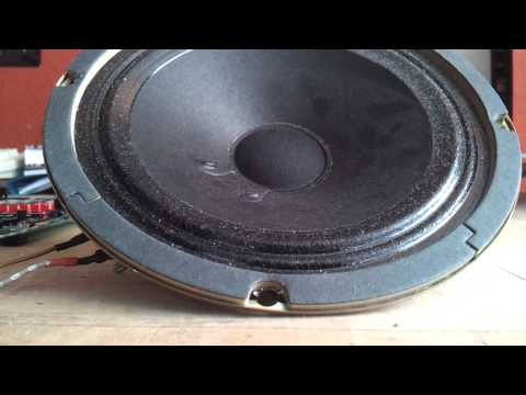 1bit audio output through RS232 with MCU