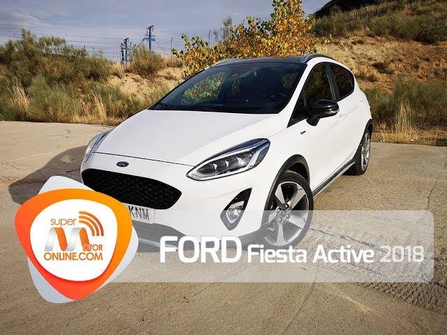 Ford Fiesta Active 2018 / Al volante / Prueba dinámica / Review / Supermotoronline.com