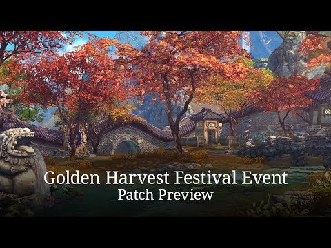 Blade & Soul: Golden Harvest Event Patch Preview