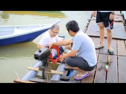 Diy Pvc Pipe Kayak Pt 2 With Engine Youtube