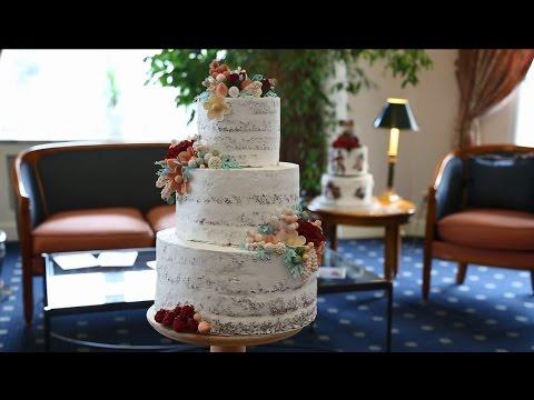 Новый вкус для свадебного торта - шоколадно-вишневый блюз.