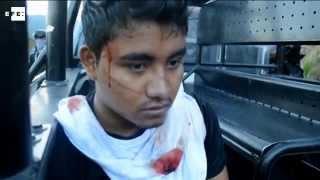 Un enfrentamiento con la policía termina con 15 estudiantes de Ayotzinapa detenidos