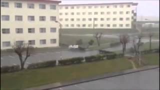 Машину унесло ветром! Ужас!
