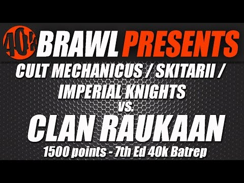 40kBrawl! UKGT Practice Match AdMech War Convocation VS Iron Hands REMATCH