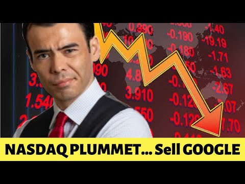 Nasdaq Tech Stocks PLUMMET....Sell Google!