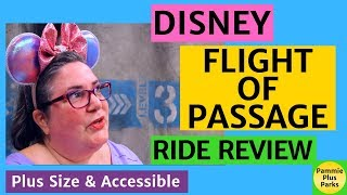 Disney - Avatar Flight of Passage - Ride Review - Plus Size and Accessible