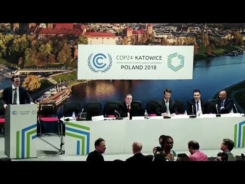 Climate Conference Erupts In Laughter As US Rep Promotes Coal