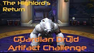 Guardian Druid Artifact Challenge