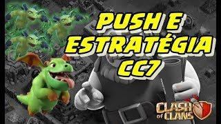 COMEÇANDO NA CC7, ESTRATÉGIAS E REPLAYS | Clash of Clans