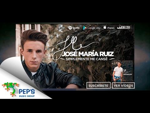 José María Ruiz - Album Sampler 'No Te Pido Más' (Disponible 7 Octubre)