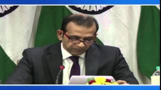 Media Briefing on the visit of President of Russia to India (December 05, 2014)
