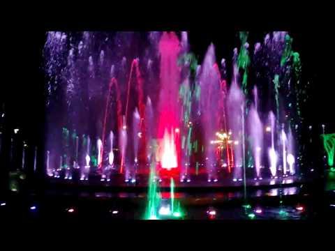 Fountain, Margaret Island in Budapest, 02-08-2013 part 2