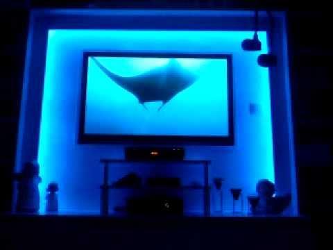 Ordentlich LED TV Wand - YouTube PN84
