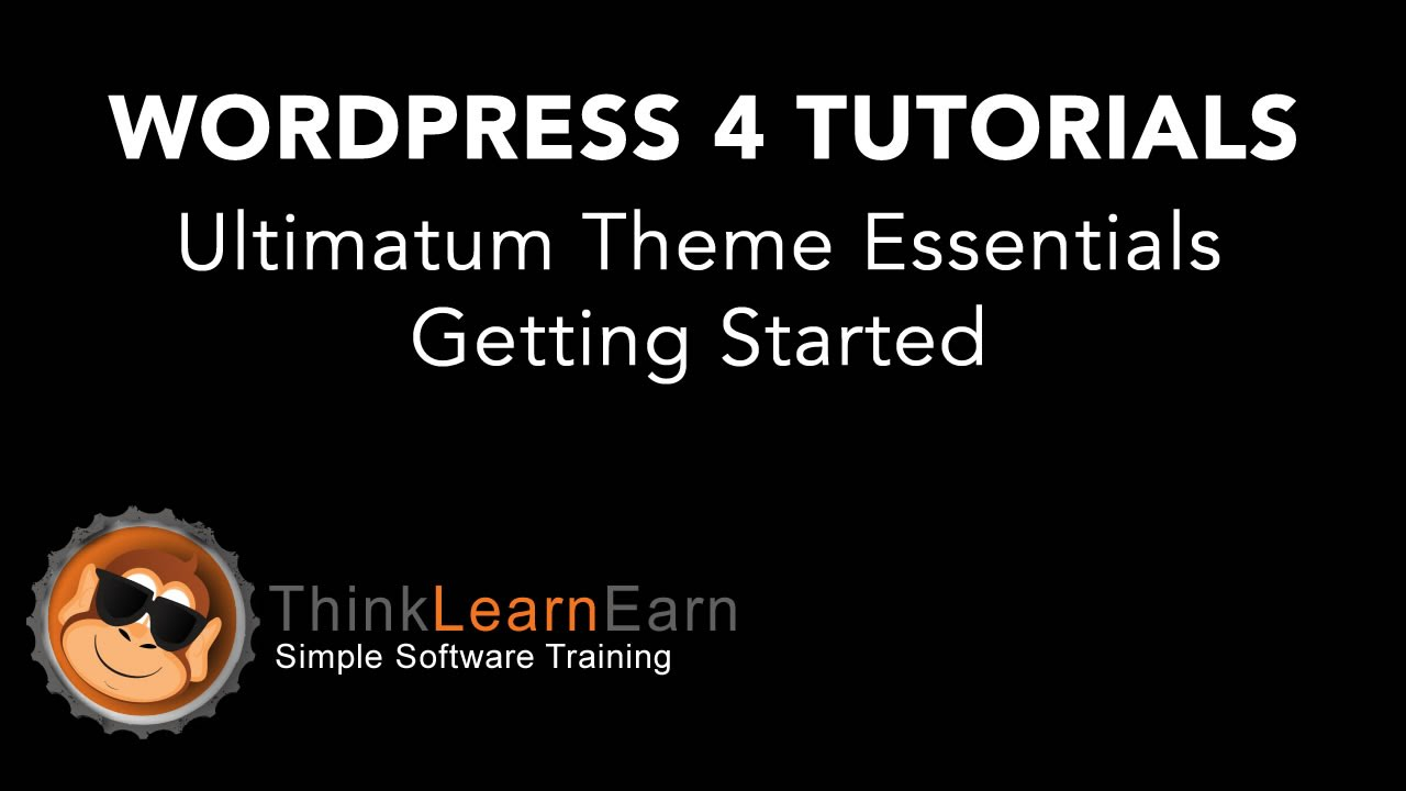Wordpress 4.2 Ultimatum Theme Framework Essentials 2.8.2 FREE Online Video Playlist