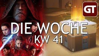 Thumbnail für Lootboxen, Star Wars-Trailer & VR für billig – Die Woche KW 41 – GT-Talk #60
