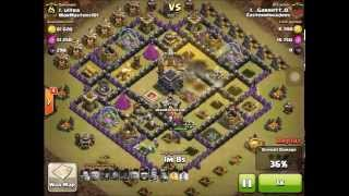 Clash of Clans - Eastern Invaders - Great War Attack - TH9