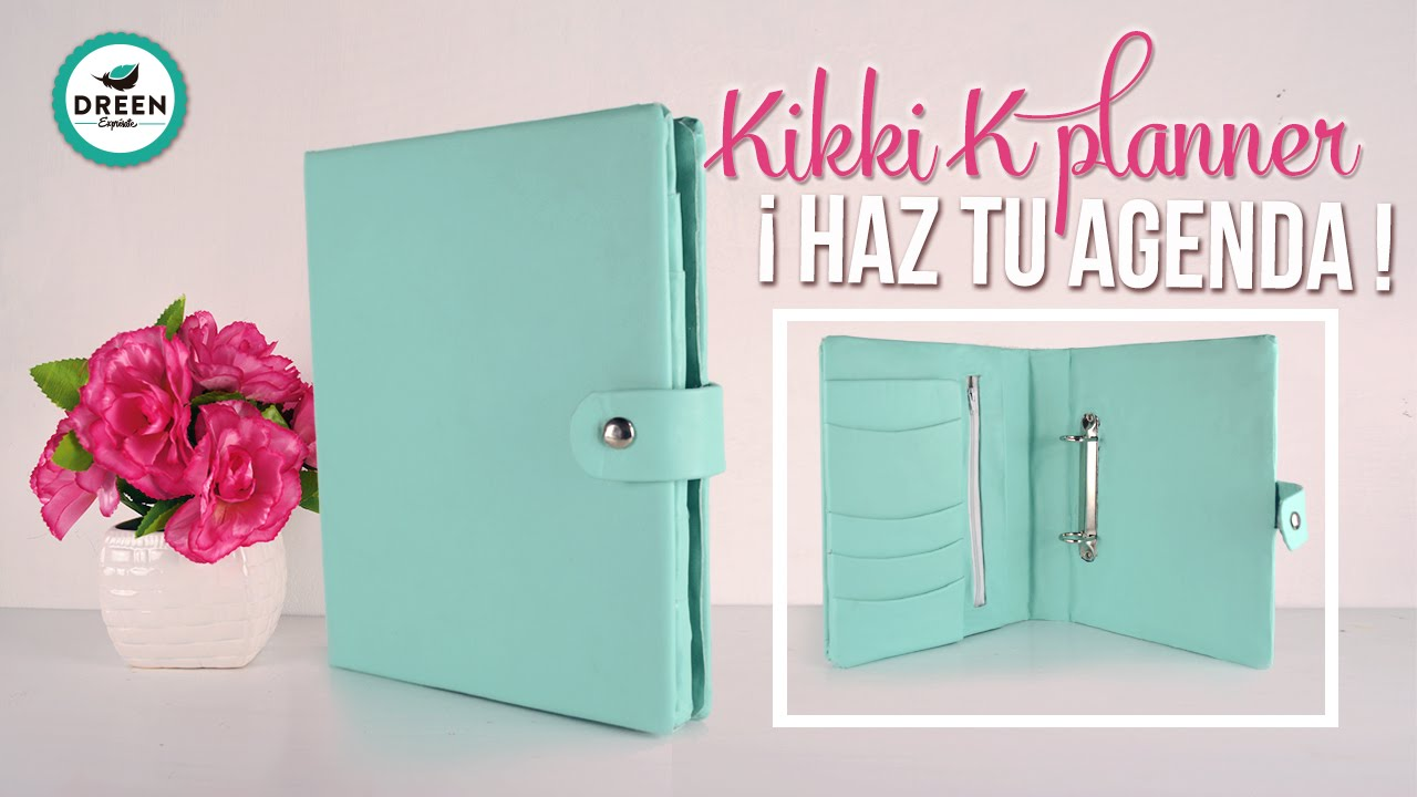 diy kikki k planner haz tu propia agenda dreen youtube. Black Bedroom Furniture Sets. Home Design Ideas