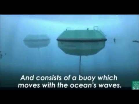 CETO wave energy system - Amazing Underwater technology to produce electricity