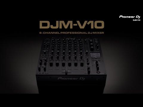 Pioneer DJ DJM-V10 6-channel professional DJ mixer: Official Introduction