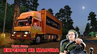 Truk Fuso Angkut Ekpedisi sampai Madura