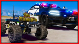 GTA 5 Roleplay - trolling cops with EXPLOSIVE RC | RedlineRP