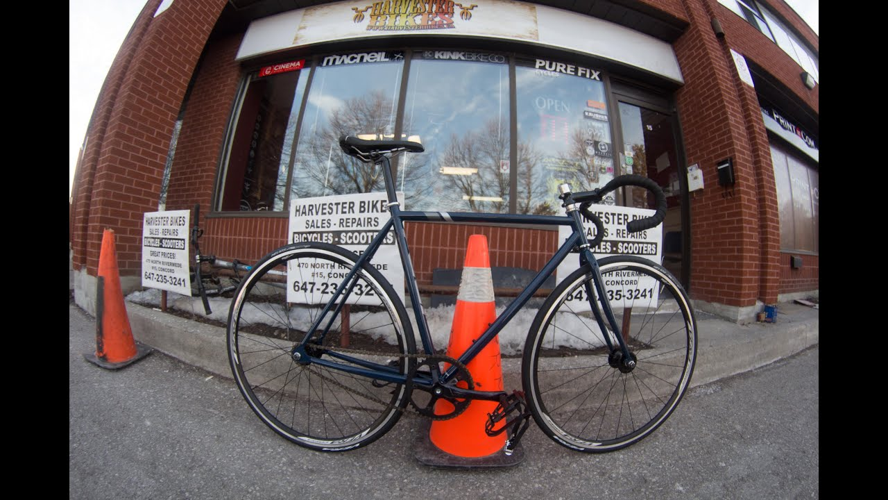 2015 Fuji Track Fixed Gear Unboxing @ Harvester Bikes