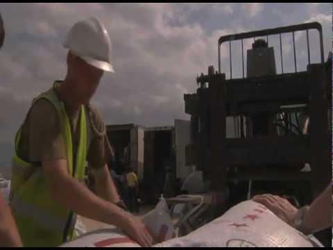 UK aid ship arrives in Haiti